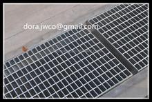 ISO9001galvanized garage floor drain covers-19ftx3.5ft galvanized iron grating