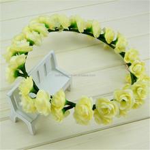 Design manufacture silk flower lei wreaths petals