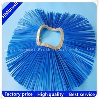 Road sweeper brush for skip steer loader made by Germany advanced machine