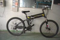 EB13-2 36V 250W/ 350W /500W 26 inch folding/foldable electric mountain bike with hidden battery