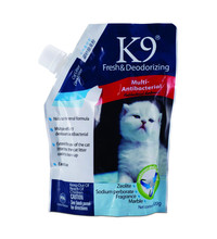 Eco-Friendly Stocked blue silica gel cat litter