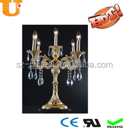 New luxury crystal table lamp