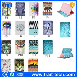 Wallet Style Side Flip PU Leather Case for iPad Mini 4