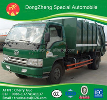FAW compactor garbage truck