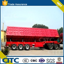 dump semi trailer 2 axle-3 axle tipper trailer 100 ton dump truck CITC China suppliers