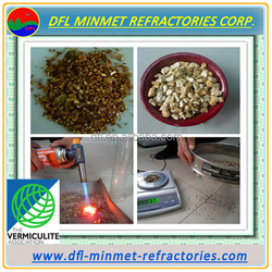 vermiculite used to make thermal cement