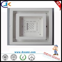 china factory direct sell pc led panel light plastic part for lighting