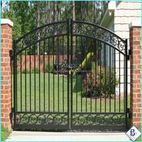 Beauty 4M(L)*2M(H)Ornamental Steel Fence&Gates &Doublegate
