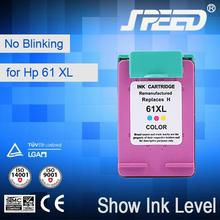 Wholesale Office Supply Remanufactured for HP Ink Cartridge 61 with Free Sample