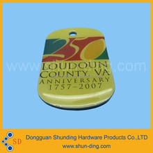 hot sale metal alloy printing fancy sals promotion gift ornament
