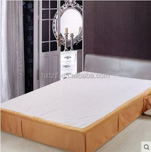 modern bed skirt,European style cotton bed skirt,fine cotton spread for hotel