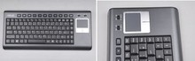 Wireless Mini Keyboard With Touchpad K8. Support USB interface receiver.