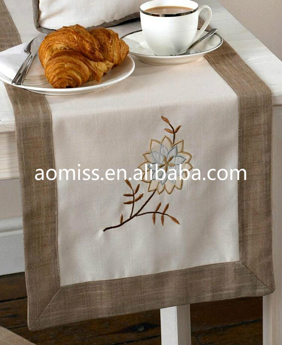 Hand embroidered table runner heat resistant table runner dining table runner buy hand - Heat resistant table cloth ...