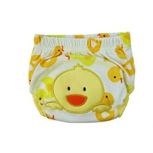 Waterproof Baby learning pants baby cotton embroidery baby diaper trousers