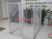 Haotian 10'x10'x6' galvanized dog kennel box factory