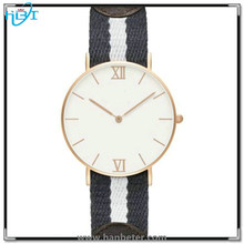 Most popular selling OEM brand your own watches available colored nylon strap