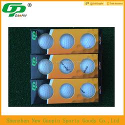 2015 bulk cheap custom design LED golf ball /night golf ball,practice golf ball