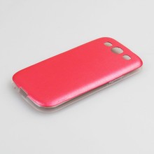 2015 New Arrival genuine leather back case for Samsung Galaxy S3 i9300