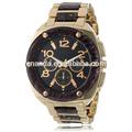 vintage estilo de la marca nombre elegante mármol de cuarzo reloj