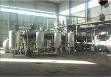 25T/D ZL-1 continuous Used oil distillation waste oil to diesel plant disposal of used oil