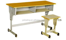Quality new products wooden color school furniture