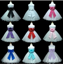 Little Cute Girl Party Bridesmaid Wedding Good charming Dress in 9 Colours From 1Y-13Y