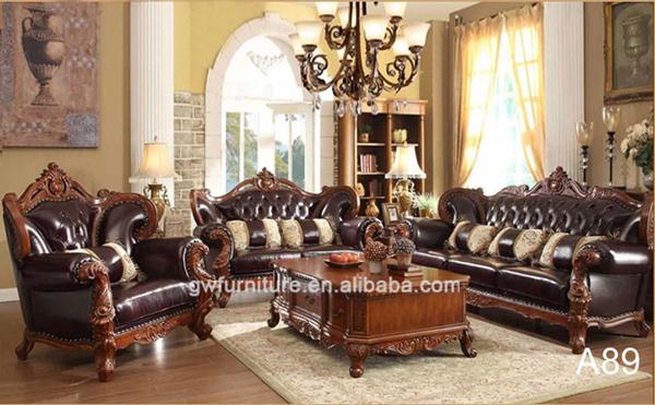 Sala de estar de luxo de dubai mobili rio antigo conjunto - Royal design muebles ...
