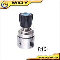 Stainless Steel High Pressure Single Stage Hydrogen Gas Regulator