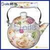 Ball shape enamel water kettle