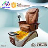 2015factory wholesale fiberglass spa pedicure chair pipeless spa pedicure chair and nail supply for sale (KM-S812)