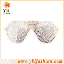 Crystal wholesale rhinestone sunglasses motif