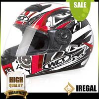 Custom Adults Full Face ABS Skull design helmet for sale