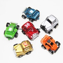 Pull back toy cars for Vending Machine toy Capsules