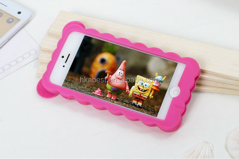 Wholesale Bumper Case For Girls, Cute Case for iphone 5s, Silicone bumper case New design 2014