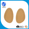 Natural latex soft leather insole for shoes heel care for pain