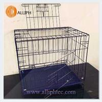 Alliph Brand aluminum folding dog cage