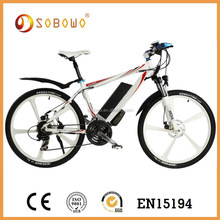 26 inch 36V 250W large power mountain e bicycle