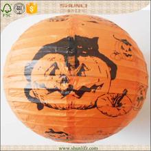 round metal chinese lantern halloween gifts