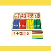 Fashion Modeling Education Toy wooden counting stick