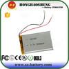 Mobile phone set battery 3.7v 3000mah lipo battery 605085 for ipod