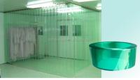 manufacturer electrostatic prevention pvc soft sheet roll ,anti static pvc strip door curtain roll
