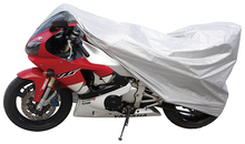 anti UV and cheap 170T polyester silver 11106 motorcycle cover
