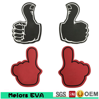 Melors Most Popular Fans Items Giant Wave Foam Finger Cheering Hands