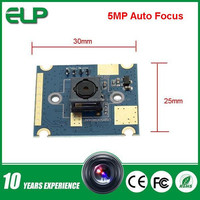 ELP-USB500W04AF-L60 Free driver 5MP micro usb camera for android with 60degree autofocus megapixel lens