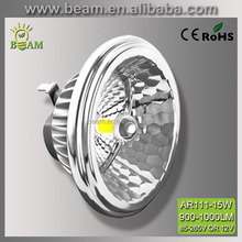 CE RoHS approved ar111 15w led spotlight 10w led bulb