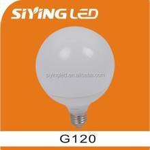 new global thermal plastic g120 15w led light bulb