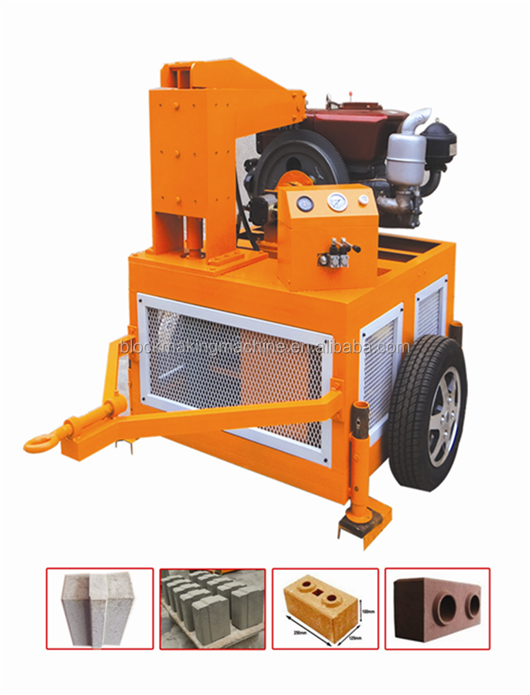Interlocking Compressed Earth Block Machine : Eco maquinas hydraform hr compressed earth blocks