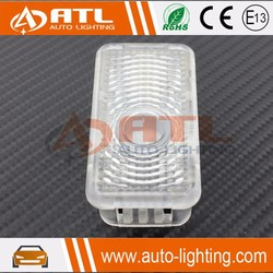 New arrival dimension same as original car logo welcome light led light door