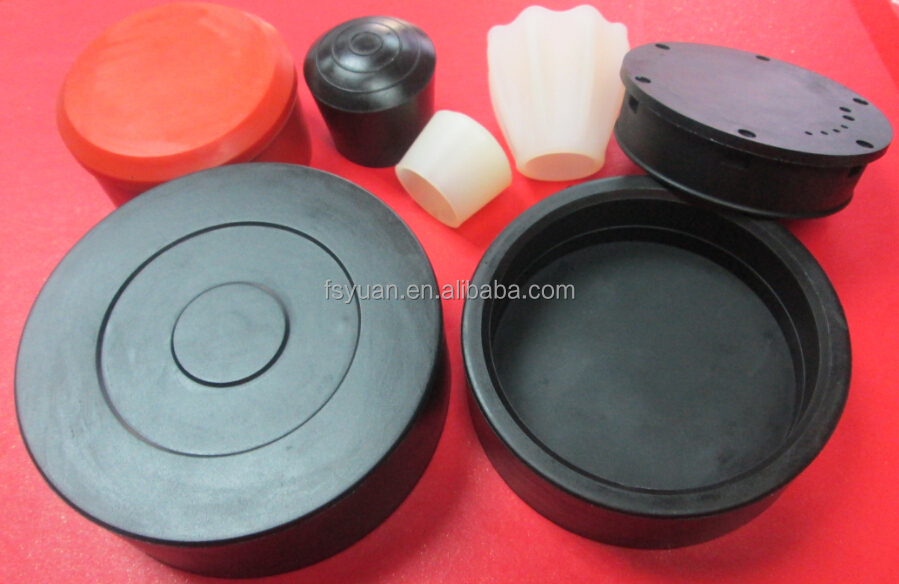 Custom battery rubber cap medical butyl silicone