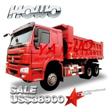 SINOTRUCK howo7 336hp 6x4 10 wheel EURO2 19.32CBM tipper truck for sale